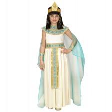 CLEOPATRA (Kleid mit Gürtel, Armbänder, Stirnband, Umhang) (128 cm / 5-7 Years)