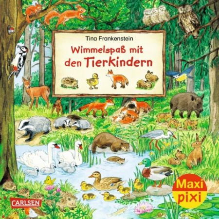 Maxi Pixi 281, Wimmelspaß mit Tierkindern