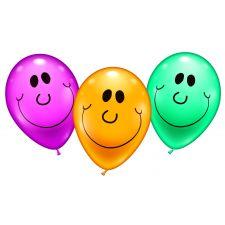 6 Ballons SmileParty