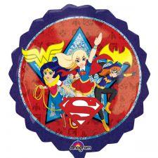 SuperShape Folienballon Super Hero Girls inkl. Helium