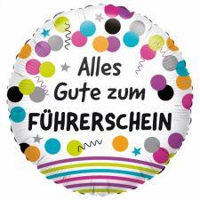 Folienballon Standard Führerschein inkl. Helium