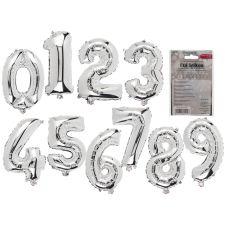 Folienluftballon Zahlen 0-9, wiederbefüllbar