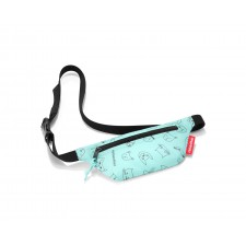 Beltbag kids cats and dogs mint