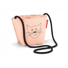minibag Umhängetasche kids cats and dogs rose