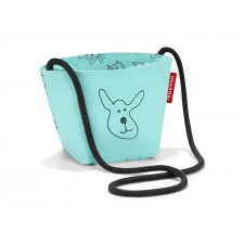 minibag Umhängetasche kids cats and dogs mint