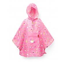 Mini maxi poncho kids abc friends pink