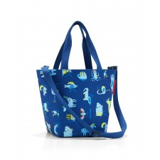 Shopper XS kids abc friends blue