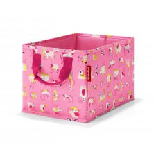 Storagebox kids abc friends pink