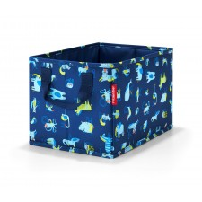 Storagebox kids abc friends blue