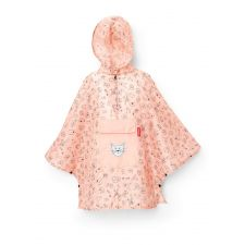 mini max Regenponcho M kids cats and dogs rose