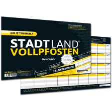 Stadt, Land, Vollpfosten - Do it yourself Edition Dein Spiel