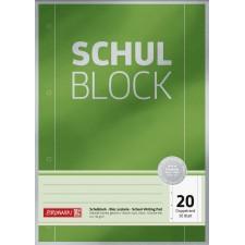Schulblock A4 90 g, 50 Blatt