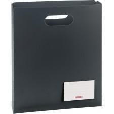 Heftbox A4, offen, anthrazit