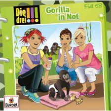 Kosmos Die drei !!! CD 58 – Gorilla in Not