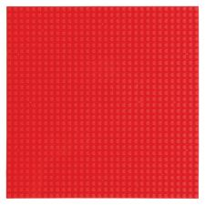 Stackable Baseplate 20x20 (4er Pack) red