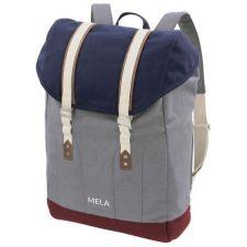 Rucksack Mela V blau grau rot