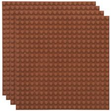 Stackable Baseplate brown
