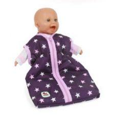 Puppenschlafsack Des. Stars lila