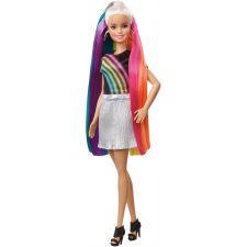 Barbie Regenbogen Glitzerhaar Puppe
