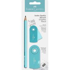 Bleistiftset Jumbo Sparkle pearl türkis