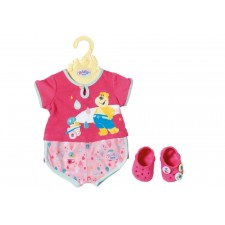 Zapf BABY born® Bath Shorty Pyjama m.Clogs