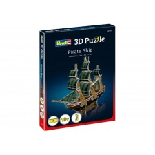 REVELL Puzzle 3D Piratenschiff 24 Teile