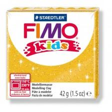 FIMO kids 42g - glitter gold