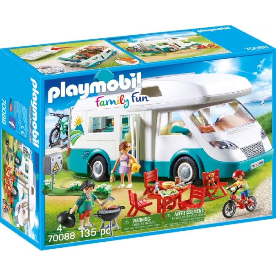 Playmobil 10 Familien-Wohnmobil