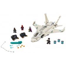 Super Heros Starks Jet und der Drohnenangriff