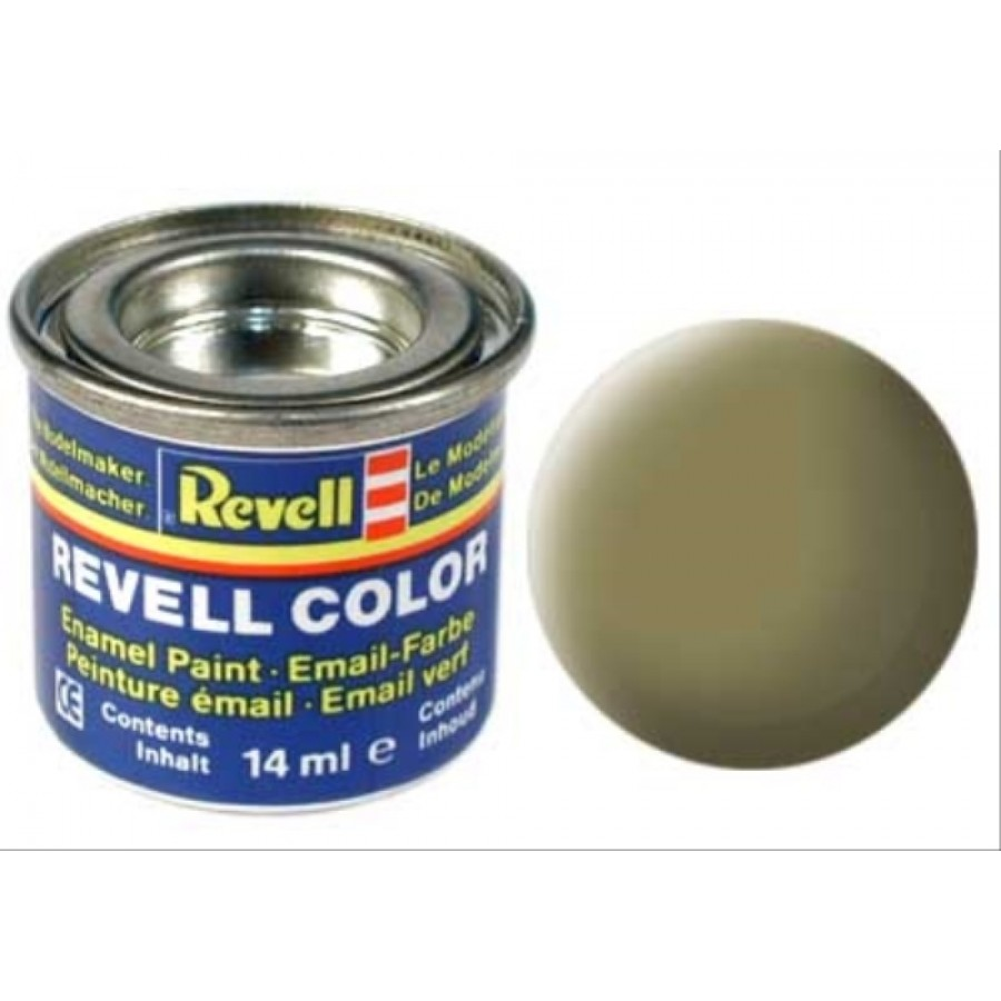 REVELL oliv-gelb, matt 14 ml-Dose