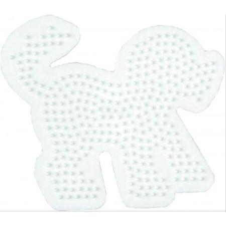 HAMA Bügelperlen Midi - Stiftplatte Hund