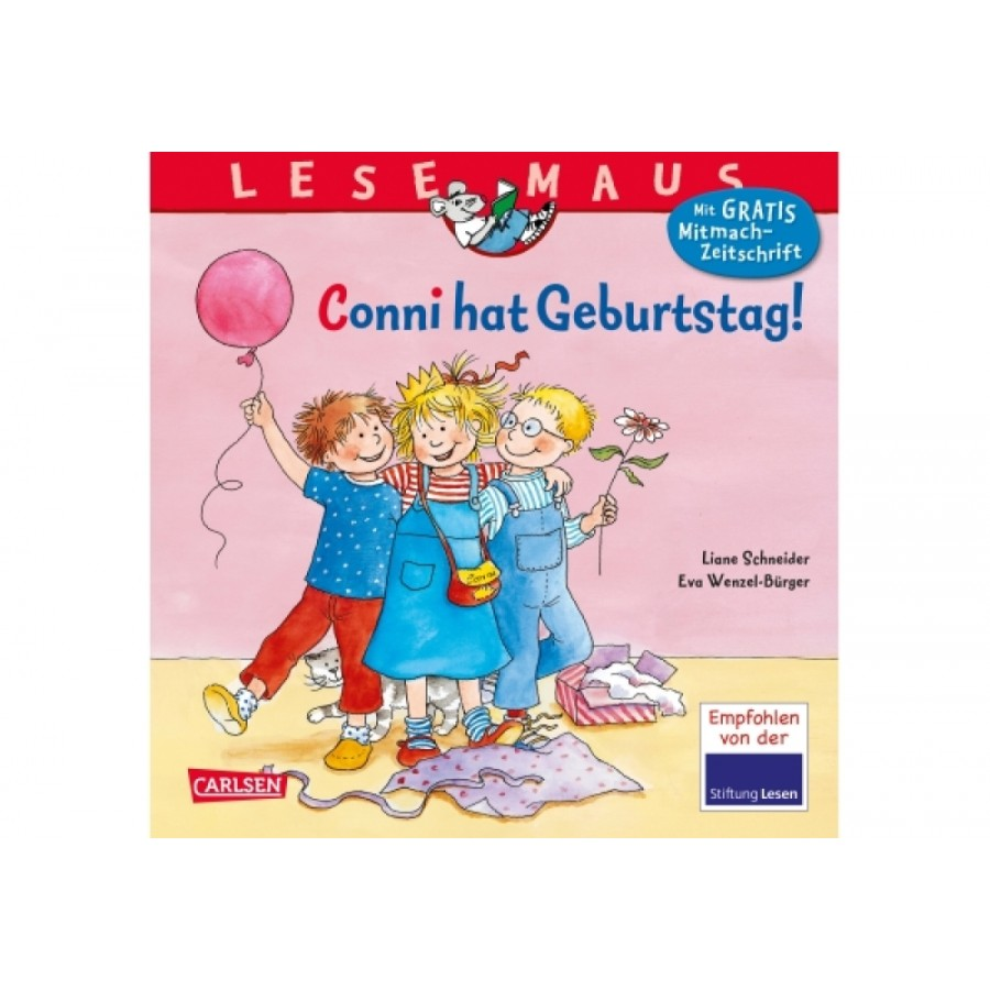 Lesemaus Band 92 Conni Geburtstag