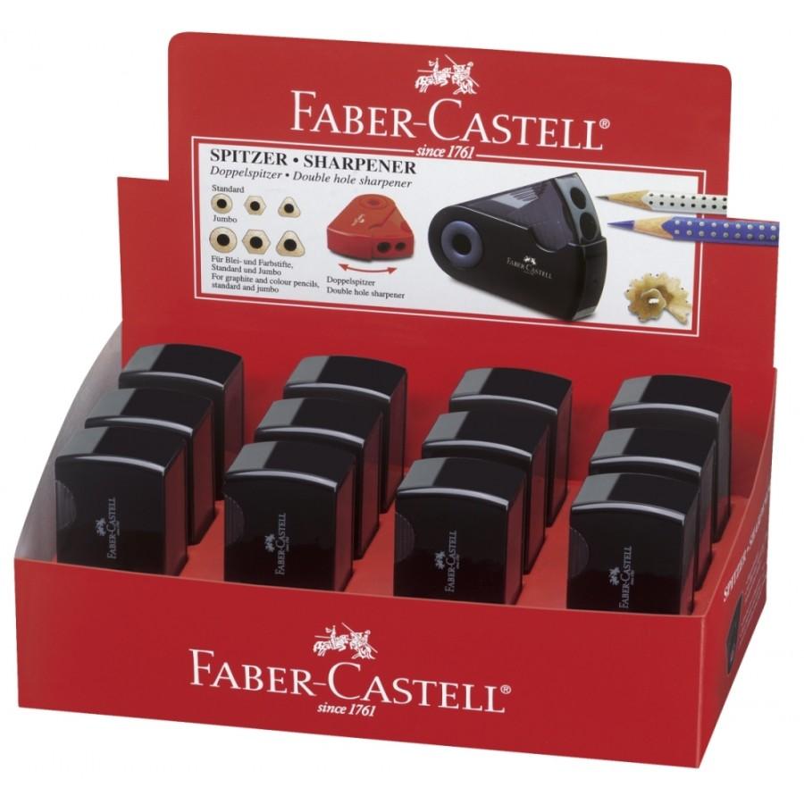Faber-Castell Spitzer Doppelspitzdose SLEEV
