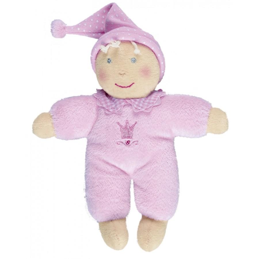 Kleine Schmusepuppe BabyGlück, rosa