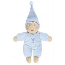 Kleine Schmusepuppe BabyGlück, hellblau