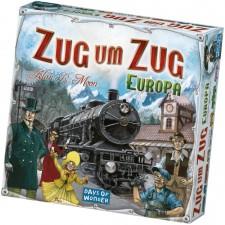 Asmodee Days of Wonder - Zug um Zug - Europa