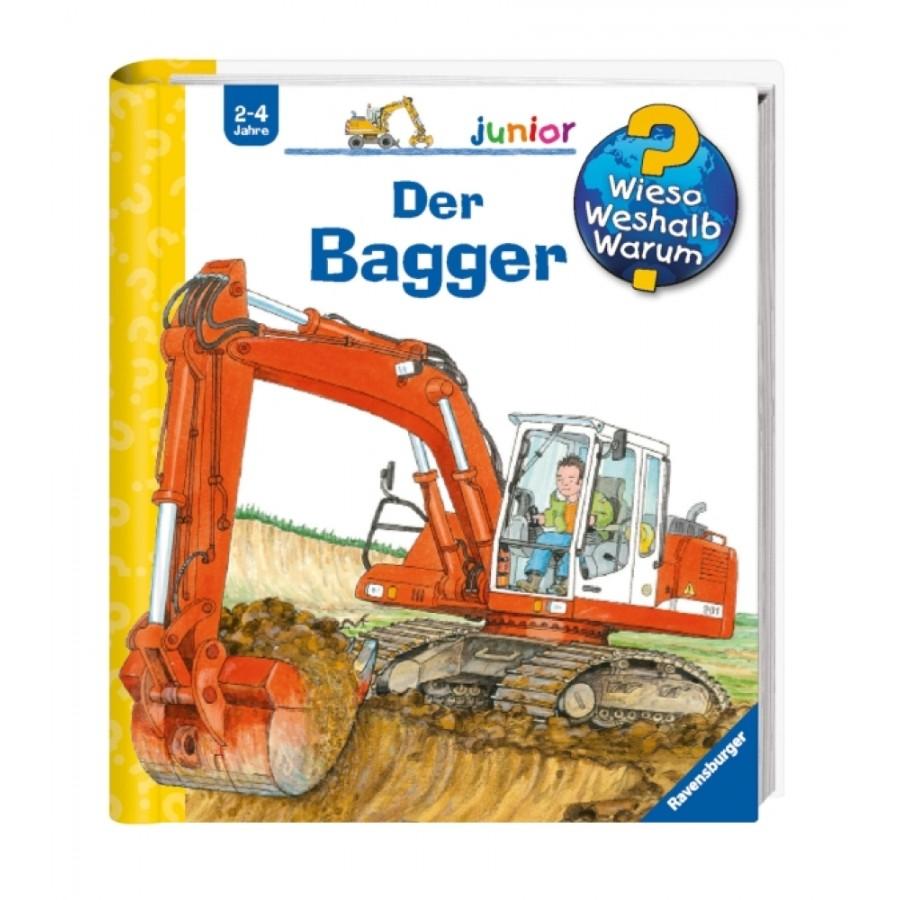 Ravensburger 32850 Wieso? Weshalb? Warum? junior 38: Der Bagger