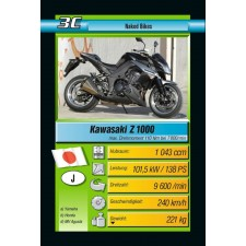 Ravensburger 203123  Quartett Hot Bikes