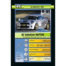 Ravensburger 203314  Quartett Car Tuning