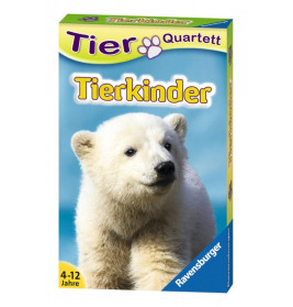 Ravensburger 204236  Quartett Tierkinder