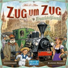 Asmodee Days of Wonder - Zug um Zug - Deutschland