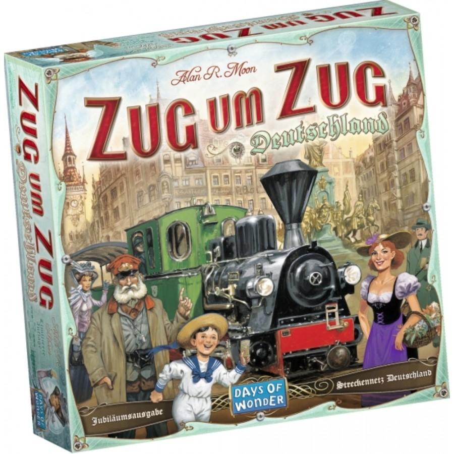 Asmodee Days of Wonder - Zug um Zug - Deutschland