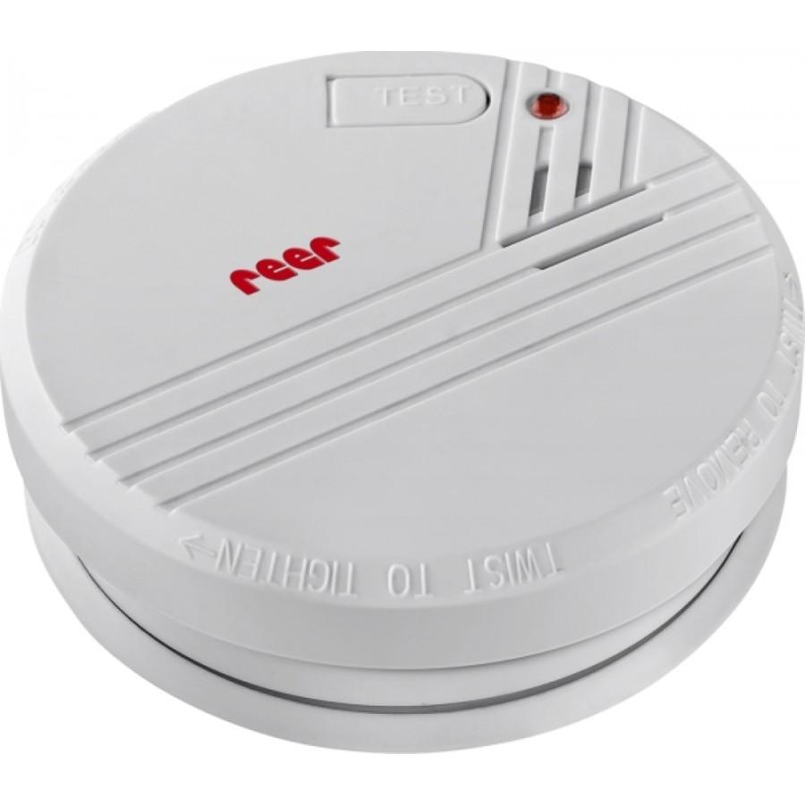 reer 8011 Rauchmelder inklusive 9 V Batterie