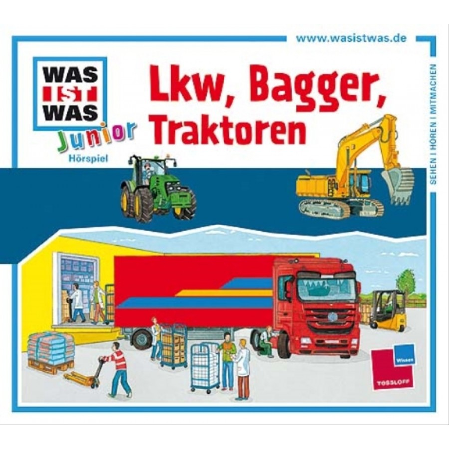 CD WIW Junior 21: LKW,Bagger