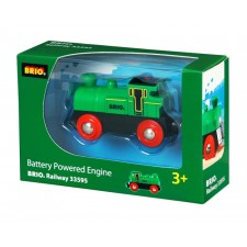 BRIO 33595000 Speedy Green Batterielok