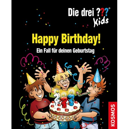 Kosmos Die drei ??? Kids Happy Birthday