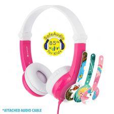 BuddyPhones Kopfhörer Connect pink