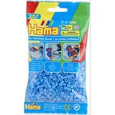 HAMA Bügelperlen Midi - Pastell Blau 1000 Perlen