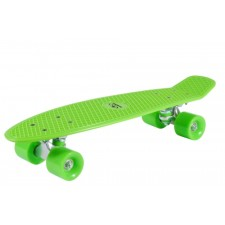 Hudora Skateboard Retrolemon Green