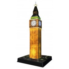 Ravensburger 125883 Puzzle 3D Big Ben Night Edition 216 Teile